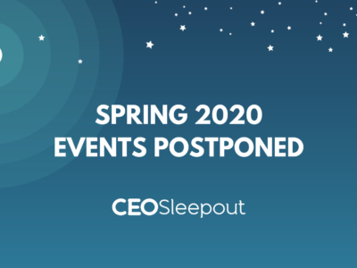 ALL SPRING 2020 EVENTS ARE POSTPONED