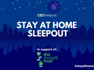 Join Us From Home for the Nationwide Stay At Home Sleepout 1st June