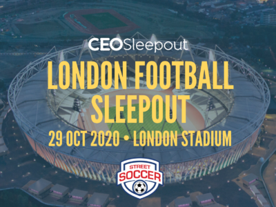 London Football Sleepout
